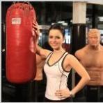 Sandy fala sobre boxe
